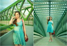 summer cowcow green skater dress curvy