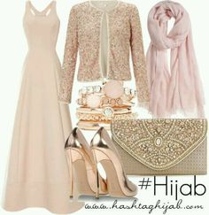 Rose gold outfit