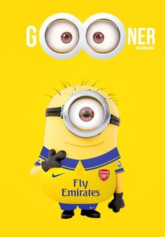 Arsenal minion. How I feel today 10.11.13 (Don't ask)