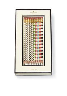 kate spade new york® Pencil Set