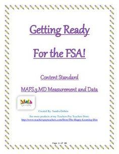 Math FSA (Florida Standards) Assessment - Fractions | Florida ...