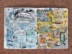 The Journal Diaries- Camp Illustrated by Matt / Seaweed Kisses