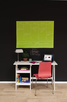 mark your calendar! color chalkboard paint is out now!