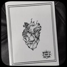 Mama's Boy Tattoo - Design of Tattoo Parlor İlhan Bilir / Nişantaşı İstanbul, Turkey / Instagram: ilhan_bilir / Tree Heart Tattoo