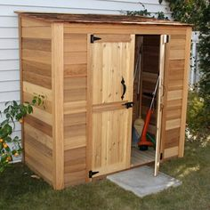 Shop Outdoor Living Today  GGC63SR 6-ft x 3-ft Cedar Grand Garden Chalet  at Lowe's Canada. Find our selection of storage sheds at the lowest price guaranteed with price match + 10% off.