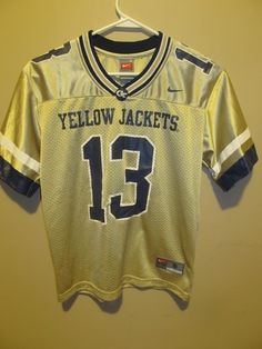 Nike Georgia Tech Yellow Jackets Football jersey , youth small - College-NCAA