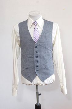 Groom's vest? I think Matt would look awesome in one.