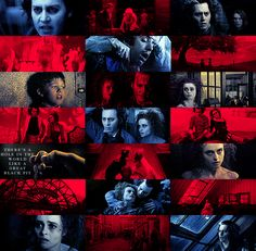 """forthequeeninthenorth:  FAVORITE MOVIES Sweeney Todd: The Demon Barber of Fleet Street (2007) """"There's a hole in the world like a great black pit and it's filled with people who are filled with shit and the vermin of the world inhabit it, but not for long!"""" - Sweeney Todd"""
