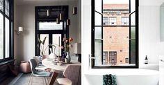 Inred med svarta fönsterkarmar – 13 tips