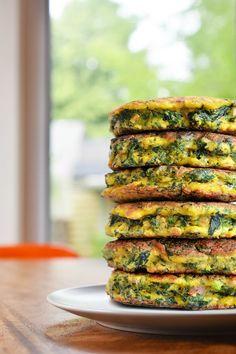Egg Foo Young-ish (Spinach, Egg, Ham, & Coconut Pancakes) | Nom Nom Paleo | Bloglovin'