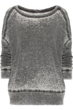 Raquel Allegra Burnout-effect jersey top NET-A-PORTER.COM