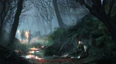 ArtStation - Stuck in a Trench, Will Roberts