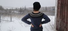 Pull islandais / Lopapeysa femmes main tricot en par Waysofwoodfolk