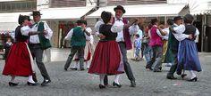 switzerland dance | Folk Dancers performing in a show in Lausanne, Switzerland
