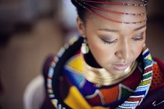 More on Culture. Join us as we enjoy Landi and Malibongwe's Ndebele South African wedding reception by As Sweet As Images. African Wedding Attire, Head Scarf Styles, South African Weddings, African Tribes, Wedding Blog, Wedding Ideas, Wedding Reception, Traditional Wedding, African Fashion