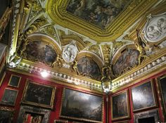 Hall of Venus at the Palatina Gallery in the Pitti Palace