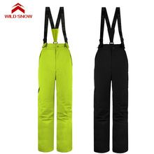 US $52.32 Suspender women ski pants waterproof windproof snow pants windproof sport Professional snowboarding women's outdoor ski trousers. Aliexpress product