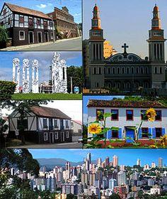 Novo Hamburgo- RS- Brazil    The town where I grew up