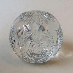 Waterford Crystal 2001 Times Square Hope For Abundance Paperweight Ireland #WaterfordCrystalIrelandIrish