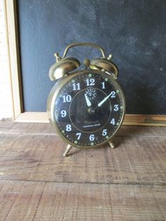 Vintage Gabriel Alarm Clock by WhatsNewOnTheMantel on Etsy, $14.00