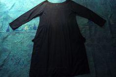 Indigo khadi dress