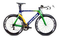 "Cervelo P3 2011 ""Brazil"" Ltd. Edition Bike"