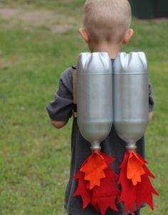 DIY Rocket Jet Packs - DIY Craft Kits, Monthly Craft Projects, Supplies, Subscription Box | Whimseybox