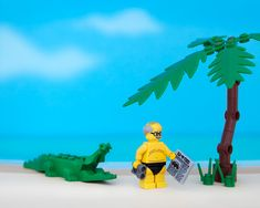 Jeff Friesen used Legos to create scenes representing each state. What do you think of yours?