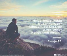 Nachzulesen auf BibleServer   Jesaja 6,3
