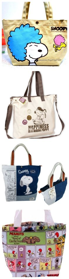You can always find a use for a bag, so you might as well get a cute Snoopy one! With so many fun designs to choose from, it's hard to pick a favorite. Start shopping at CollectPeanuts.com and support our site.