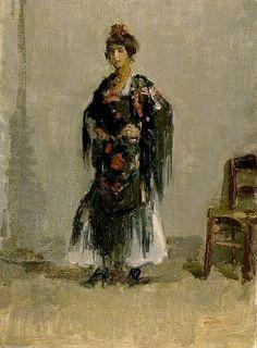 Isaac Israëls (1865 - 1934) Spaanse vrouw, 1918 Olieverf op doek – Kröller-Müller Museum The Hague, Dutch Painters, Fashion Painting, Vintage Artwork, Cool Art, Awesome Art, Pastels, Old School, Amsterdam
