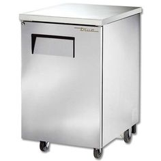 True 23.5 Inch Stainless Steel Back Bar Cooler