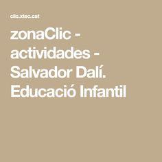 Library of JClic activities Dali, Acting, Salvador Dali, Activities, Artists