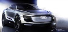 Audi E-Tron Sportback Crossover Concept