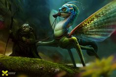 Max Kostenko — worx - Max Kostenko is a character designer based in Moscow, Russia. He is specialised in character design and illustration. Fantasy Creatures, Mythical Creatures, Fantastic Beasts And Where, Art Et Illustration, Creature Concept, Creature Design, Creature Feature, Faeries, Fantasy Art