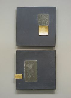 Textured Squares by Lori Katz: Ceramic Wall Art available at www.artfulhome.com
