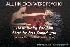 Exposing a Sociopath: Should You Warn a Sociopath's Next Victim?  Hell no!  Let them have each other.  He/she wouldn't believe you anyway.  In time, his/her true colors will show along with his/her multiple partners.  There's never just one.   Consider yourself fortunate that you no longer have to deal with their abuse.    psychopathfree.com