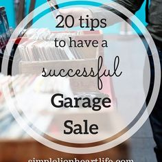 Two weekends ago we hosted a garage sale, and it was a huge success. We earned over $1000 in two days and got rid of almost everything we had for sale! But hosting a garage sale takes a lot of time and work. If you're going to host a garage sale, you want to make sure you earn enough and get rid of as much as you can to make it worth the time and effort. Click the link in my bio to learn my tips to plan, organize and host a successful garage sale!