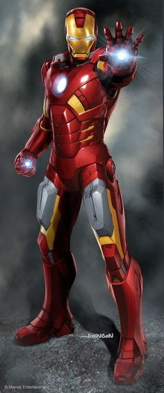 #Iron #Man #Fan#Art. (Iron Man) By: Scott Johnson. (THE * 5 * STÅR * ÅWARD * OF * MAJOR ÅWESOMENESS!!!™)