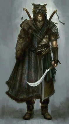 Male Human Ranger - Pathfinder PFRPG DND D&D d20 fantasy