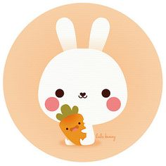 friday carrot by Luli Bunny. SO ADORABLE!