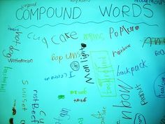 from individual words to writing on a class poster!