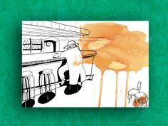 "Illustration ""Bar"" von Granatapfel auf DaWanda.com"