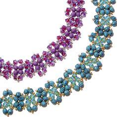 free Saturday Night Bracelet pattern