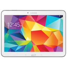 "Samsung Galaxy Tab 4 10.1"" 16GB Android 4.4 Tablet With 1.2 GHz Quad-Core Processor - White #SetMeUpBBY my grandkids love their tablets and this would make a great addition to them"