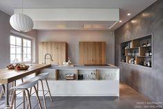 Rénovation et décoration d'une maison de famille à Knokke (Belgique)