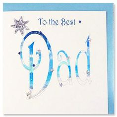 Father's Day Card - Cost of card: £3.99  Amount to charity: 60p    http://birthdaycards.charitygreetings.com/personalised-charity-greetings-cards-fathers-day-cards-uk/fathers-day-cards/13654-best-dad-birthday-card