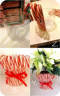 Candy Cane Centerpiece (Teacher's gift) |