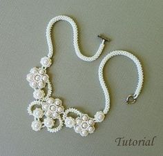 PROJECT SKILL LEVEL: advanced: (NOT recommended for beginners.) LANGUAGE: English This is a DIGITAL FILE only. No beads and no finished product are included in this sale. Downloadable PDF file will be available once payment is confirmed. No refund will be issued after the tutorial has been downloaded. This tutorial includes detailed step by step instructions with lots of computer diagrams and 2 photos of the completed project for visual help. Also included are the beads colors, numbers…