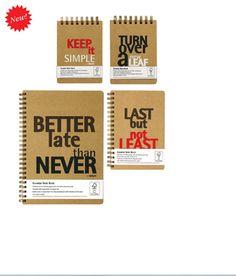 """""""Besser spät als nie"""" #notebook"""